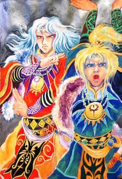 【ロマサガRS】ファンアートの中で一番色々なインパクトのある絵はこれだよな!?